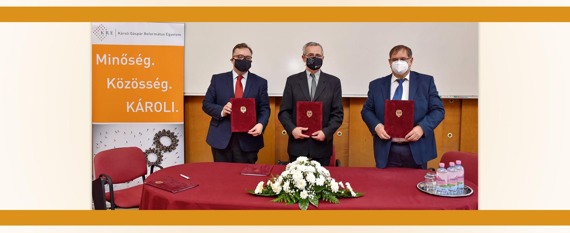 Együttműködési megállapodás a pedagógus- és hitéleti képzések szakmai gyakorlatáról